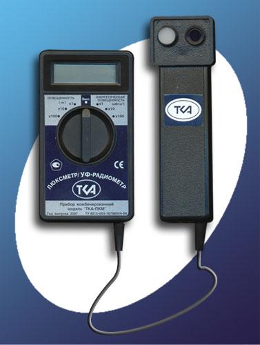 Люксметр + УФ-Радиометр (модель 06)