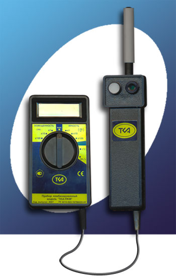 Люксметр + УФ-Радиометр+ Измеритель температуры и влажности